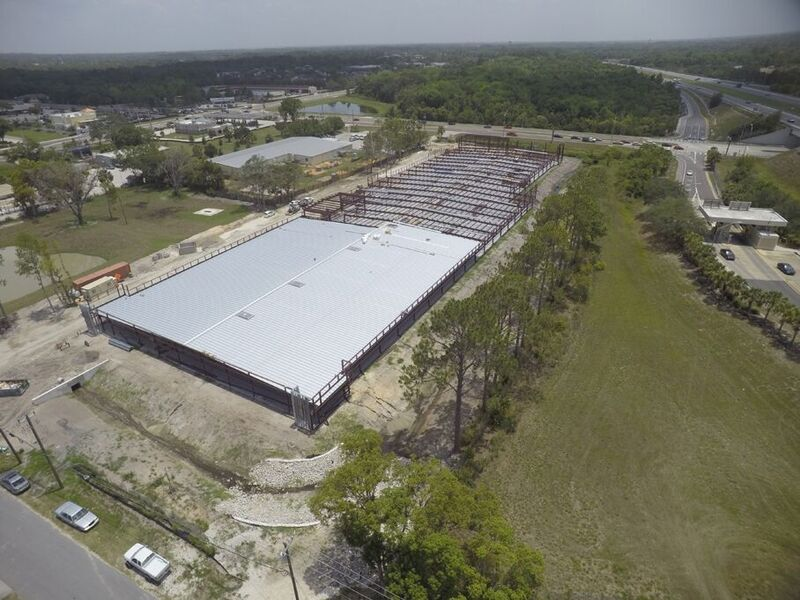 Sanford Storage June Aerial