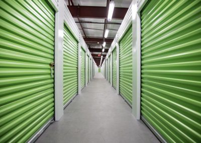 Walkway - Green Doors Straight